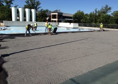 Concrete Decks = Hot Fluid Applied Rubberized Asphalt