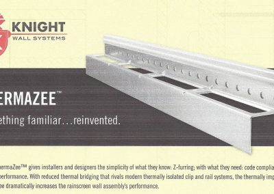 Knight Wall Systems – ThermaZee(tm) Cladding Attachment (10/19/2020)